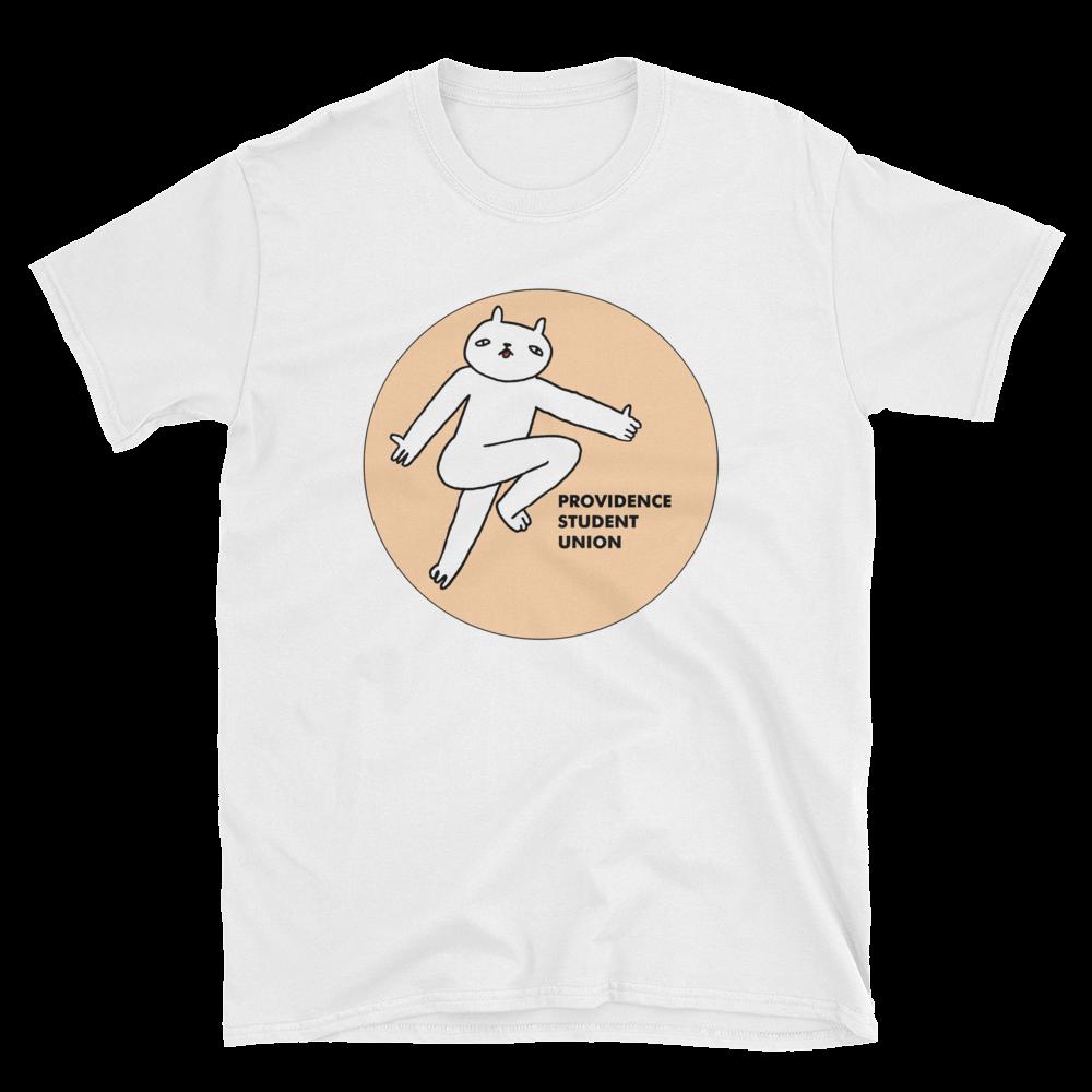 white-providence-student-union-shirt