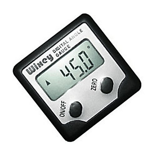 Wixey digital magnetic angle finder level thing