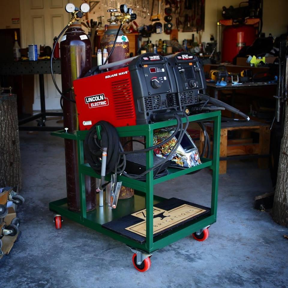 MIG & TIG Welding Cart