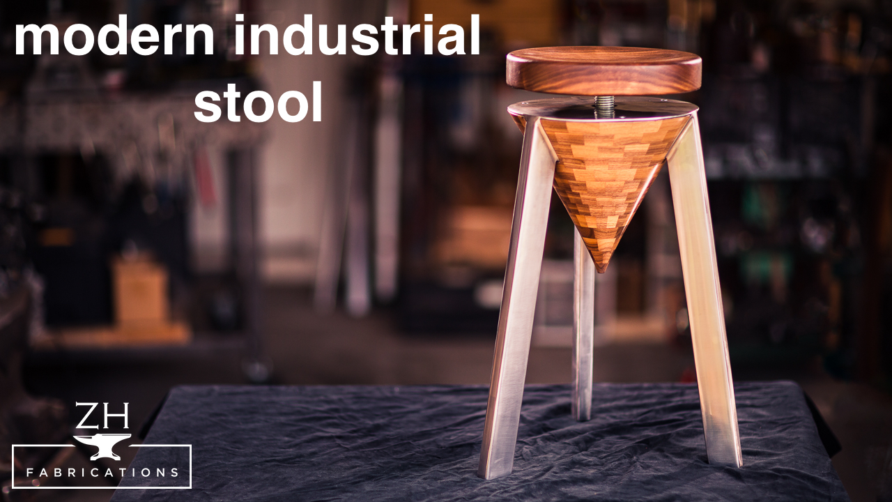 Modern industrial stool