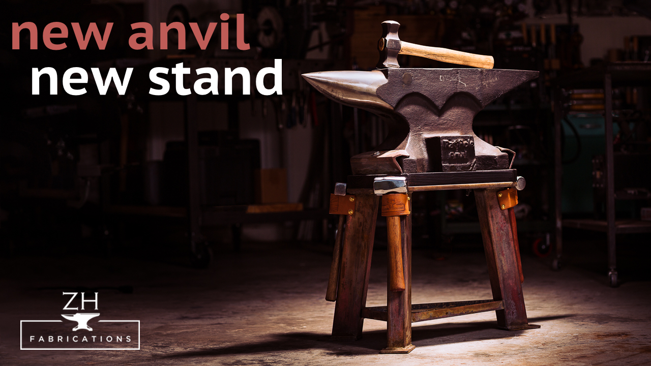 New anvil, new stand