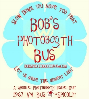 Bob's Photobooth Bus Logo