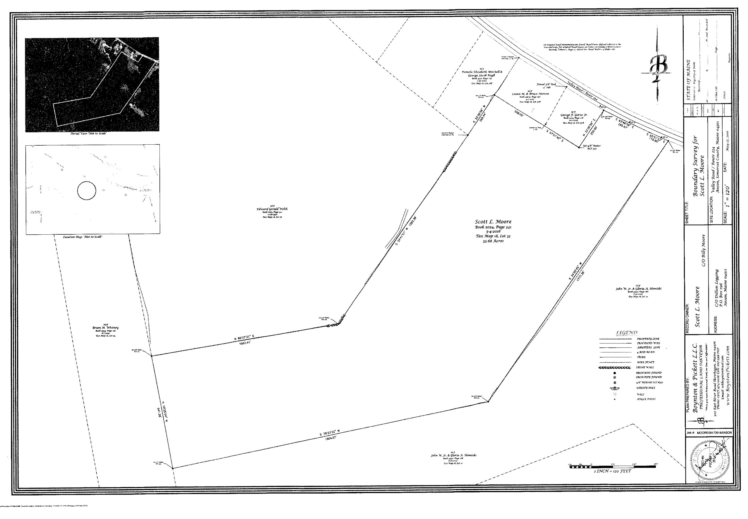 Anson - Click Here to View The PDF MapClick Here To Download The Google Earth Link