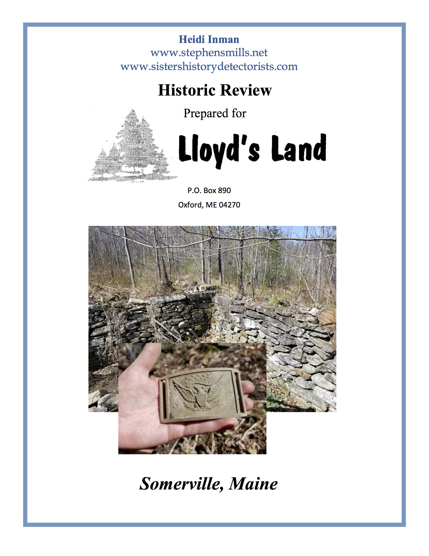 Click Here To View - SOMERVILLE'S HISTORIC REVIEW