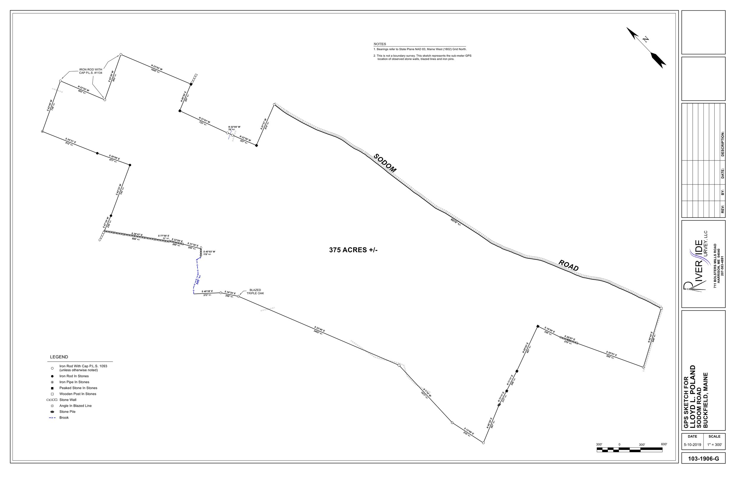BUCKFIELD - Click Here To View The PDF MapClick Here To Download The Google Earth Link