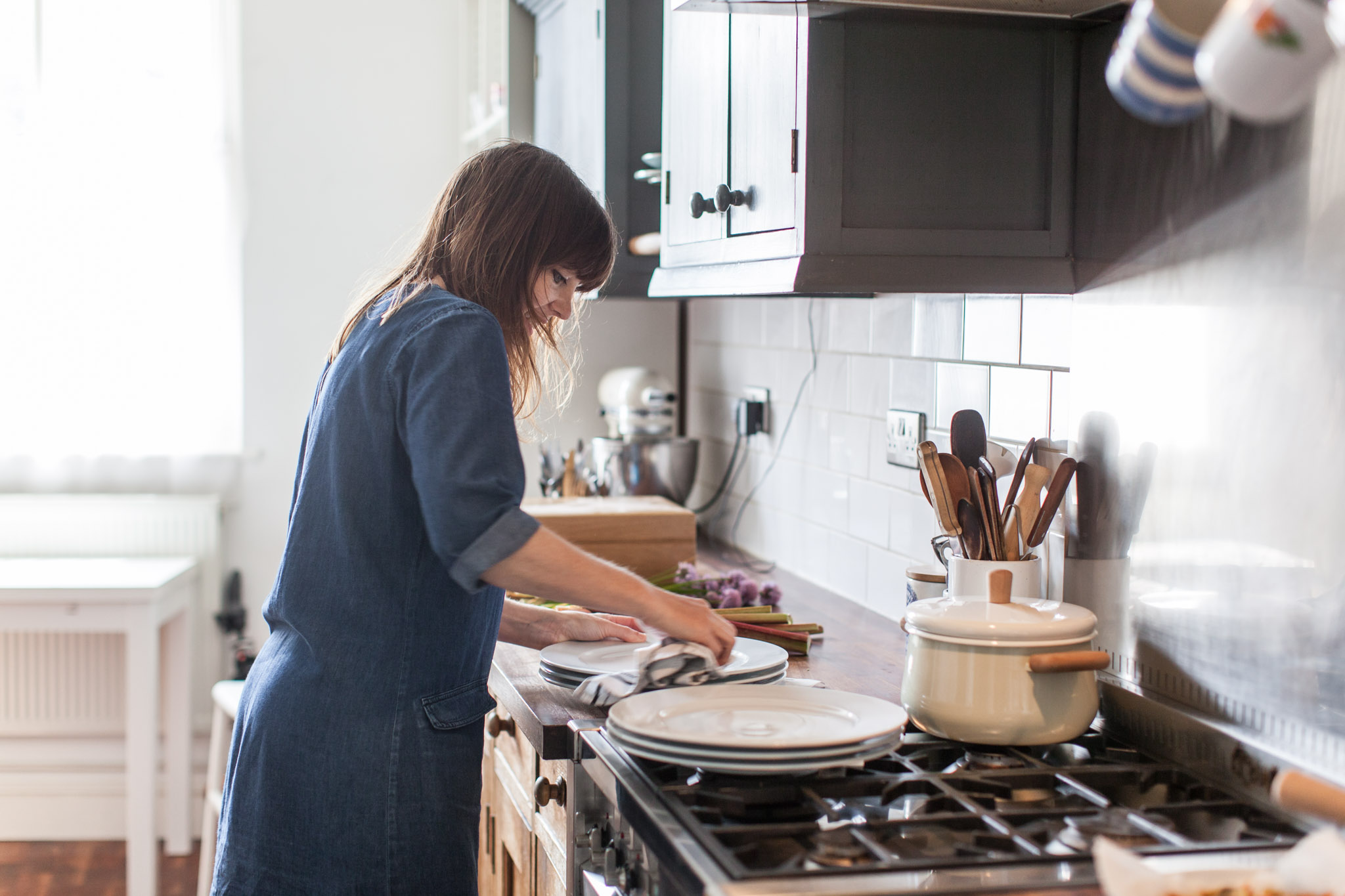 An Easter gathering for The SImple Things magazine styled by Louise Gorrod and photographed by Brighton lifestyle photographer Emma Gutteridge
