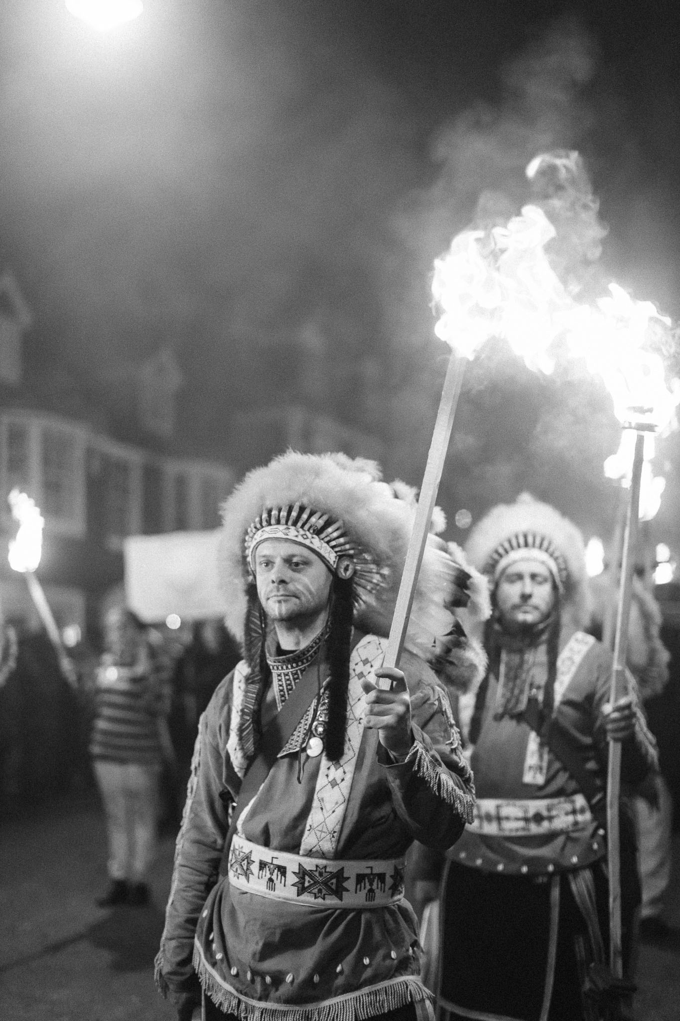 Lewes Bonfire 2017 - the biggest bonfire celebration in the world where the streets of this small town glow red from the fire while seven societies process through the streets. Photos by Lewes resident Emma Croman. Photos must not be used without formal permission.