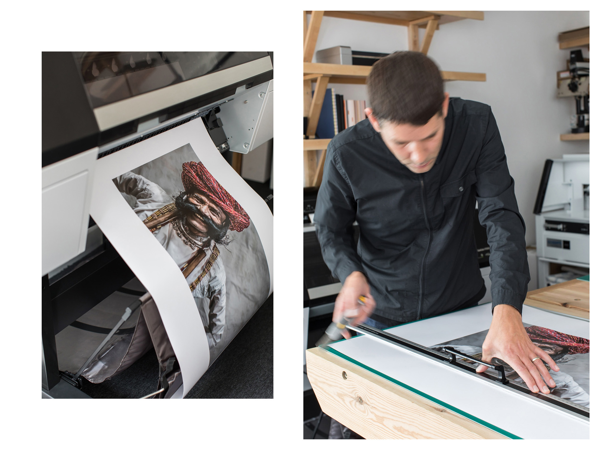 Photographs of Stampa Print and Design in Brighton by Emma Croman