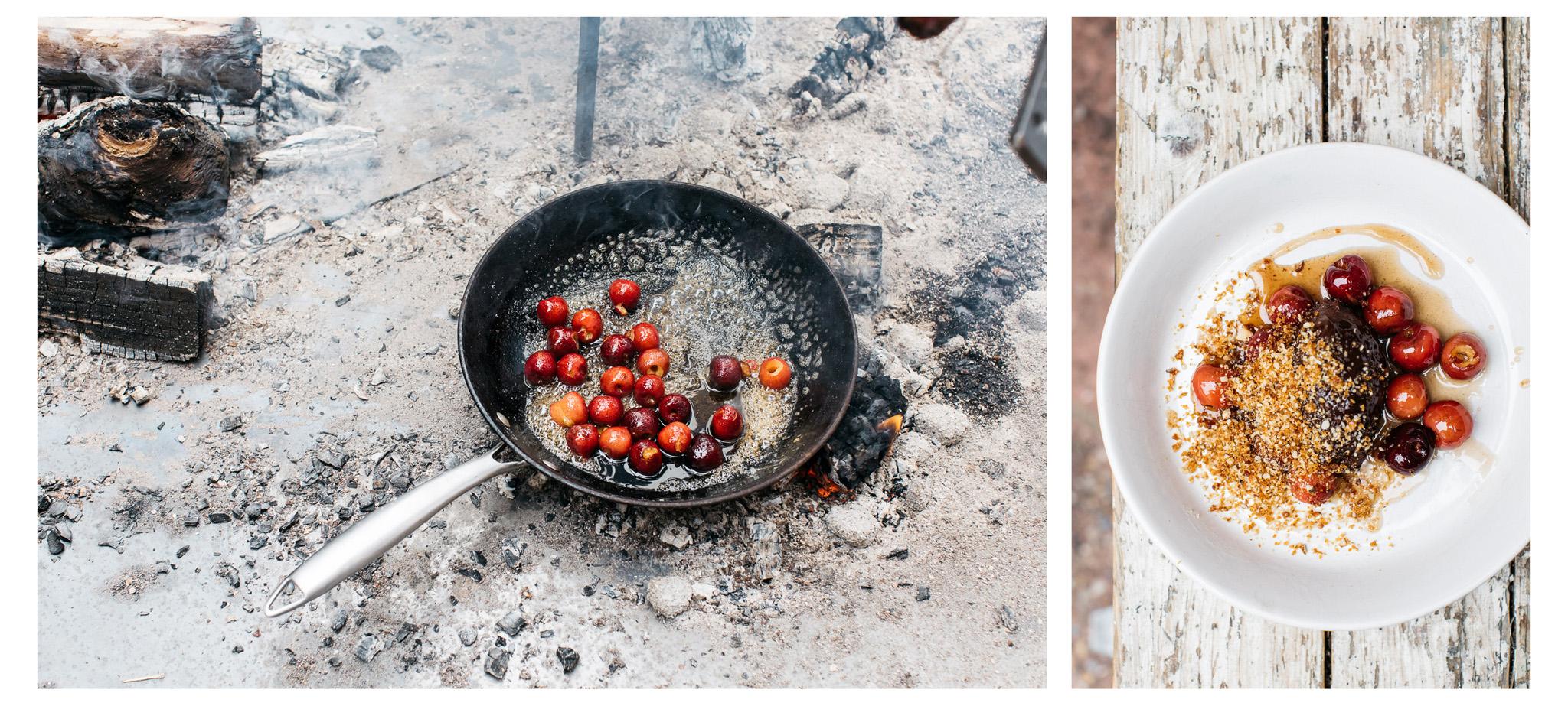 Brighton food photographer Emma Croman captures the Smoke Tin Kitchen is full swing.