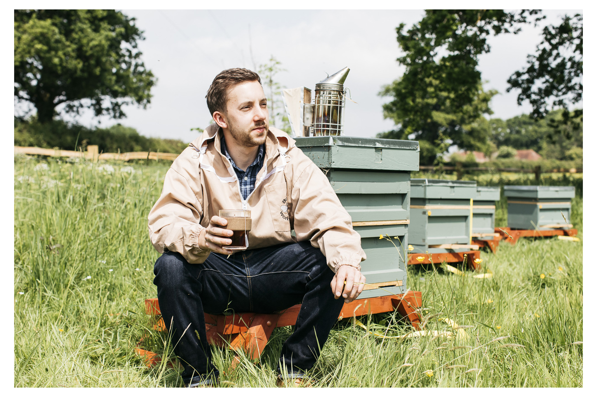 Lifestyle and portrait photography for Aecre Honey - an ethical brand based in Sussex working with independant producers nationwide.