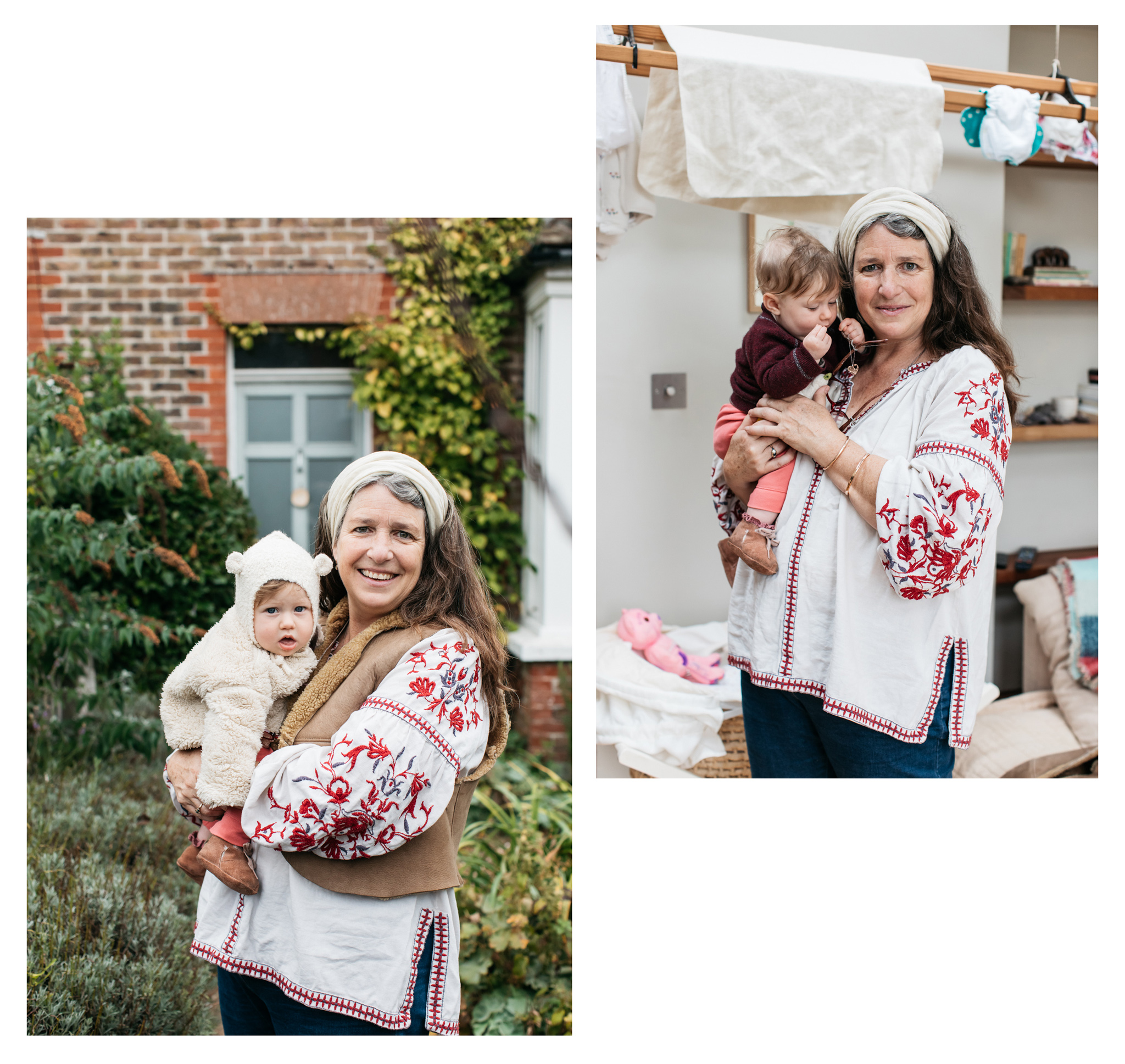 Samsara is a birth and post natal doula from East Sussex who talked about her views and passions on green living in Green Parent Magazine. Photographed by Emma Croman.