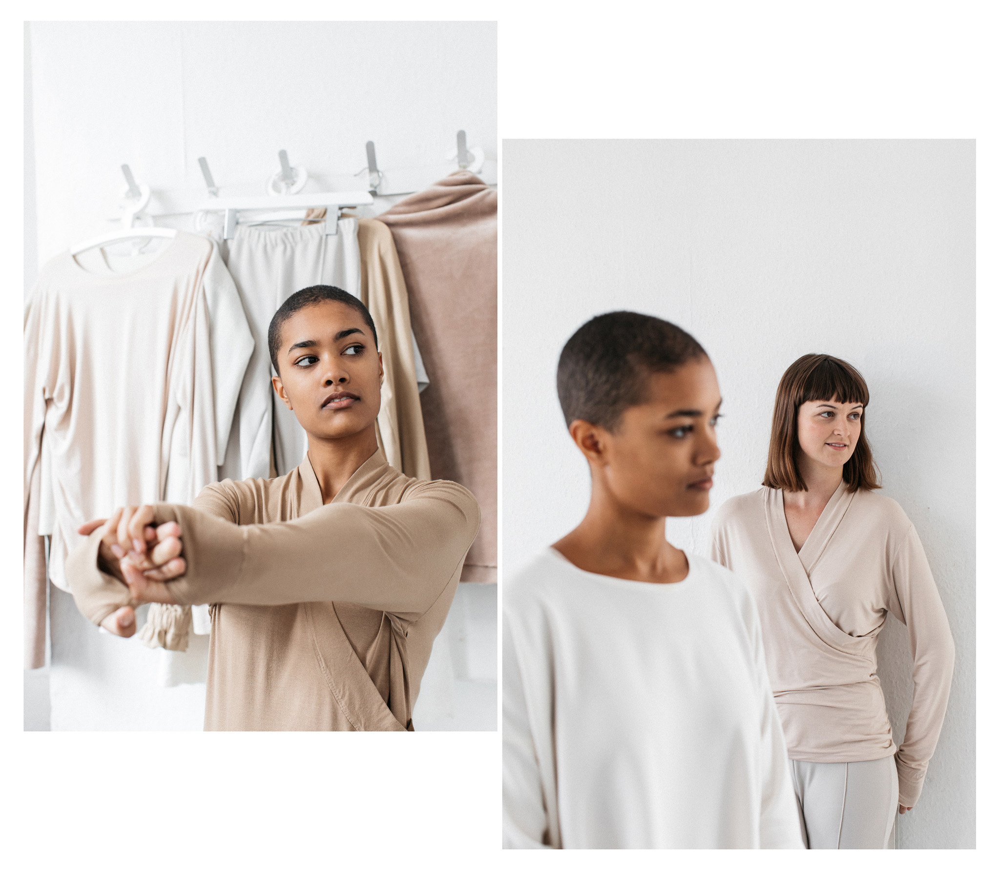 Editorial and lookbook for the Maker's Atelier magazine. The Maker's Atelier provide sewing patterns for a contemporary market. Photographed by Emma Croman in Brighton.