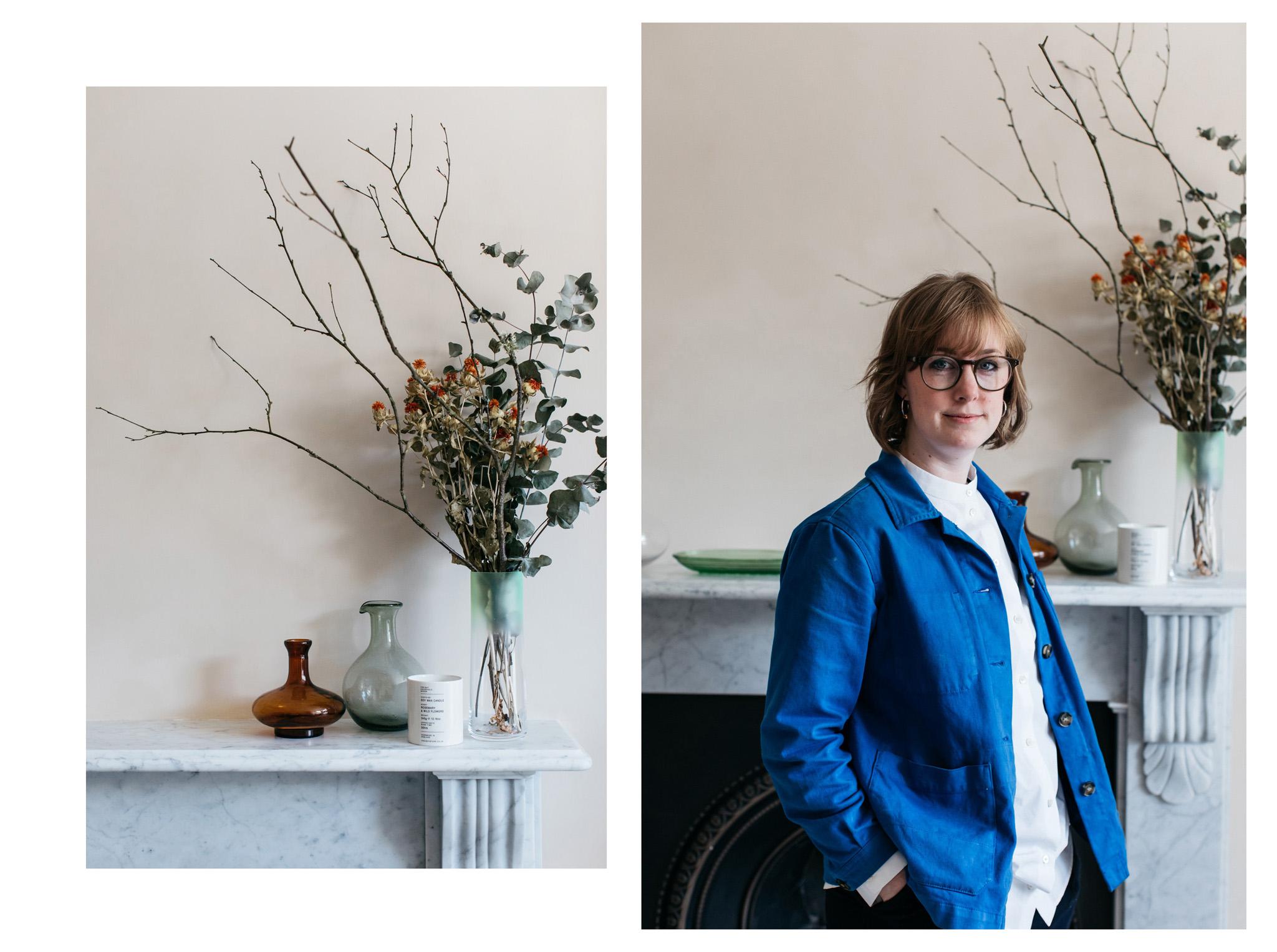 Natural light portrait photography by Brighton photographer Emma Croman
