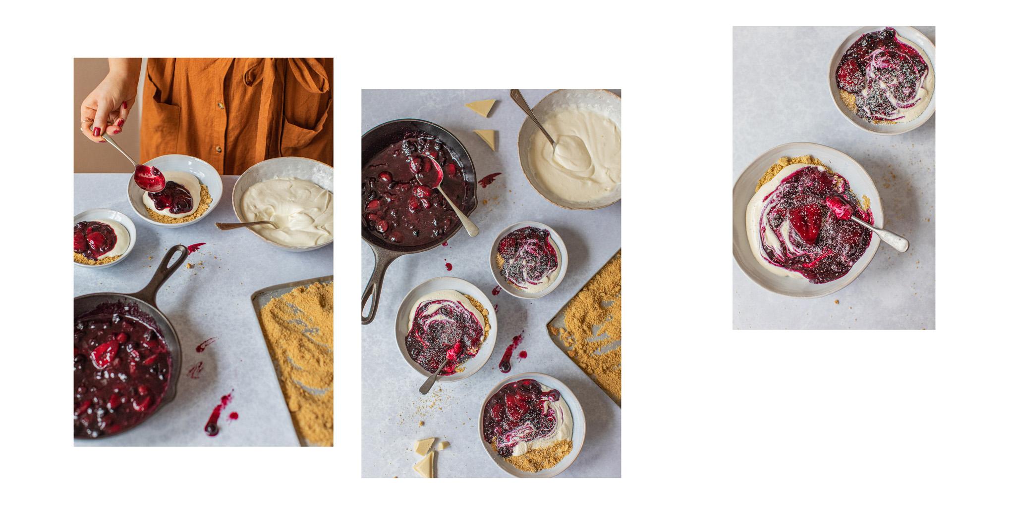 Food blogger recipe photography London