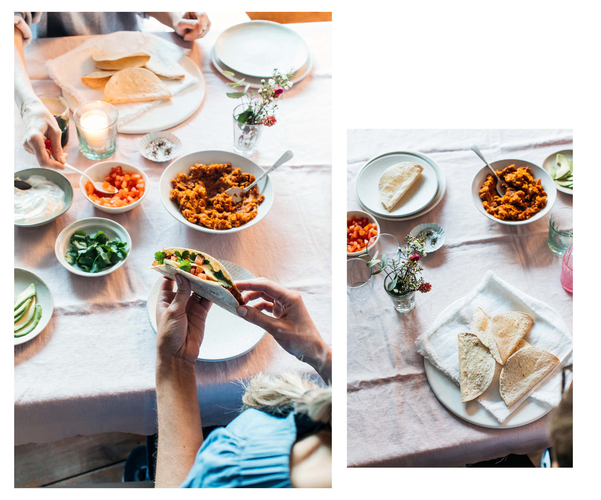 Food and recipe photography for The Gut Health Doctor by Megan Rossi