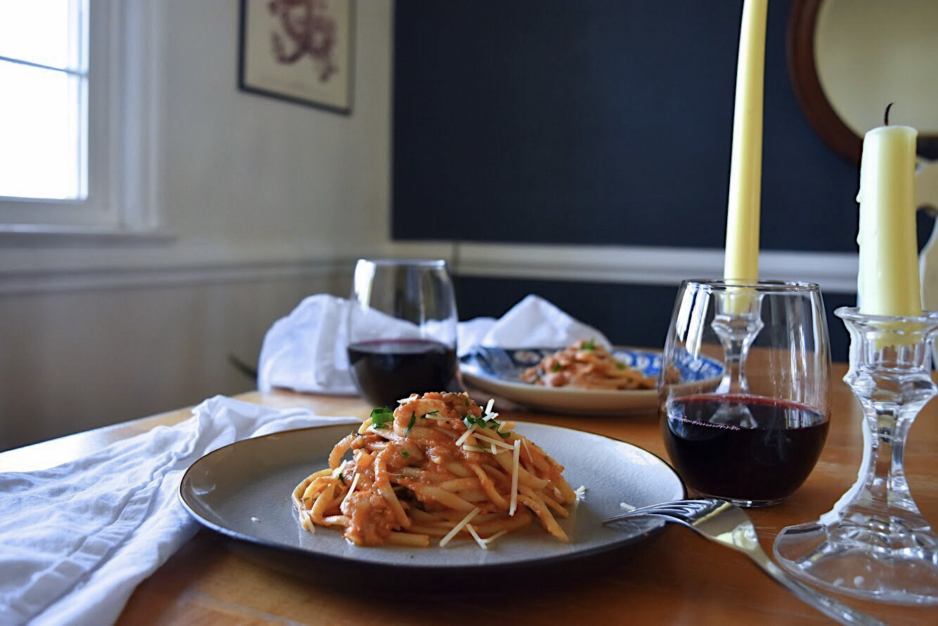 Date Night In: Linguine with Rockfish The Full Table Blog.jpg