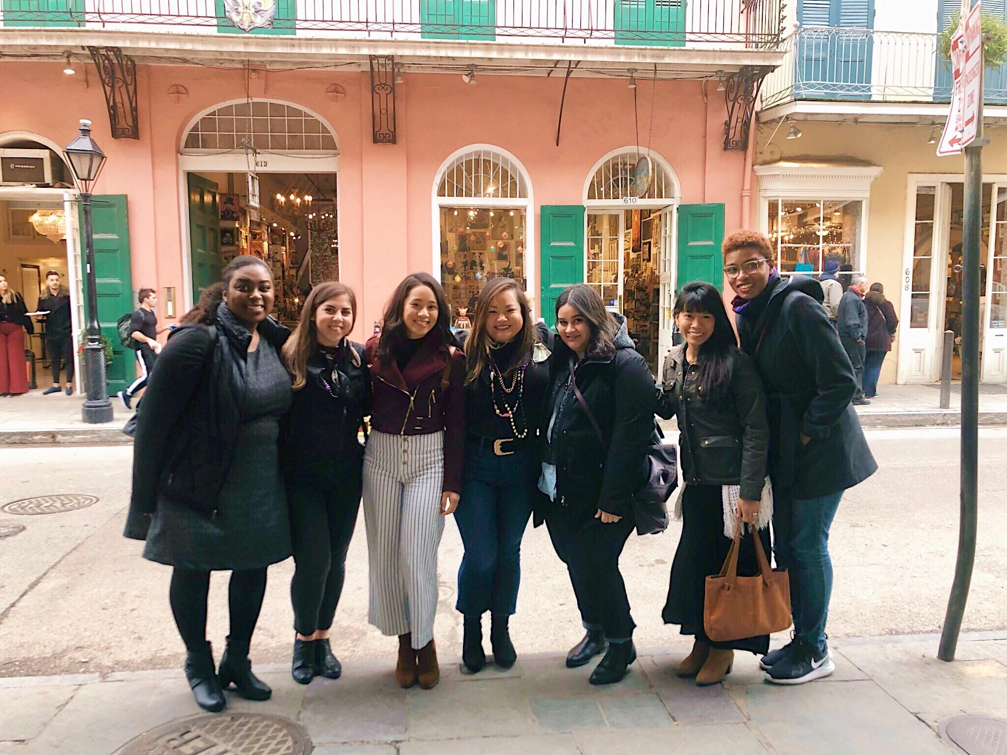 Shopping with the gals in the French Quarter