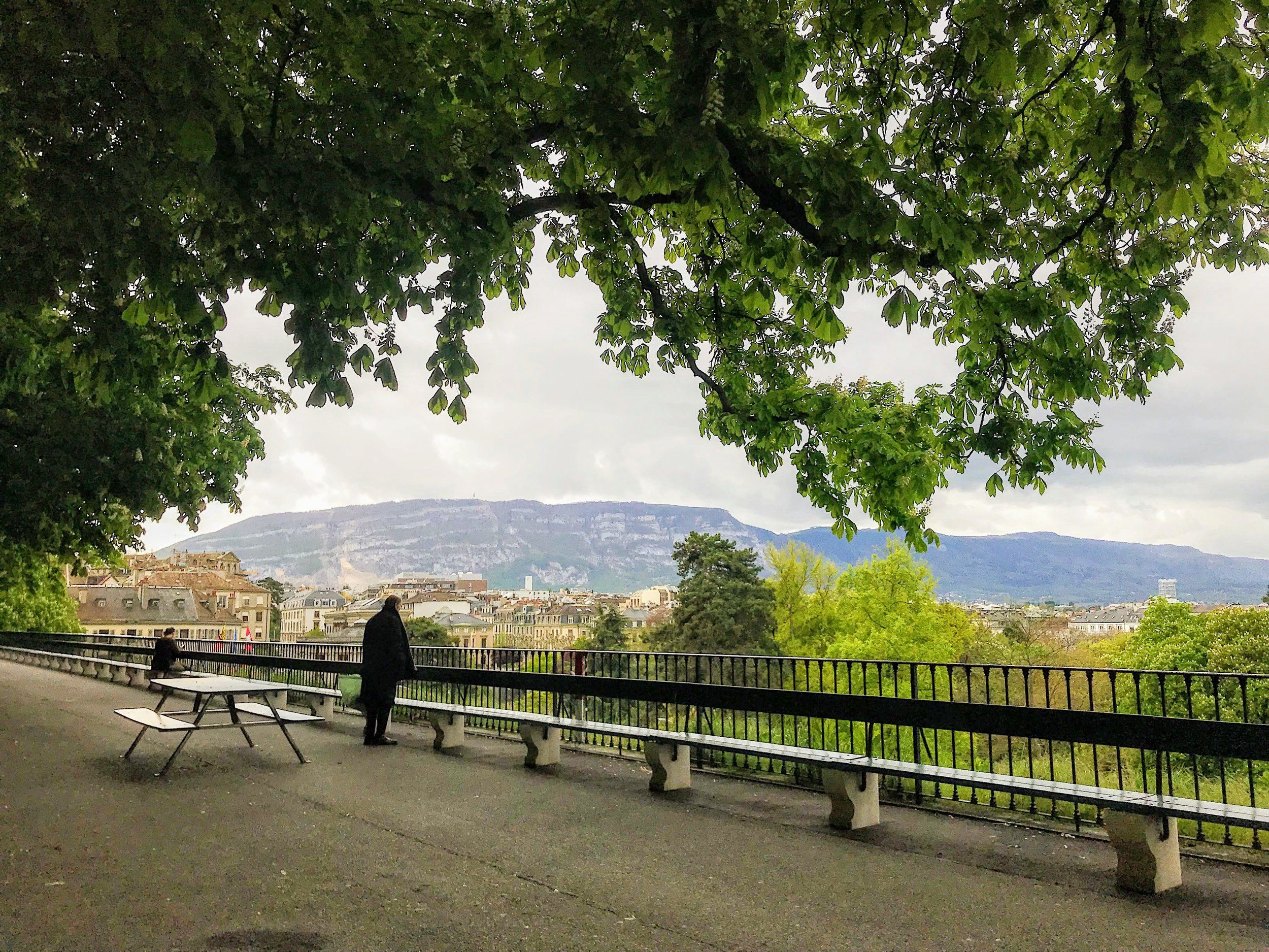 View of Geneva from Old Town
