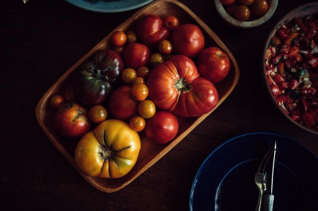 Anyone else hoarding summer's final tomatoes without a plan? 🙋🏻♀️ We've got you covered. New recipe coming this week 😎 #thefulltable