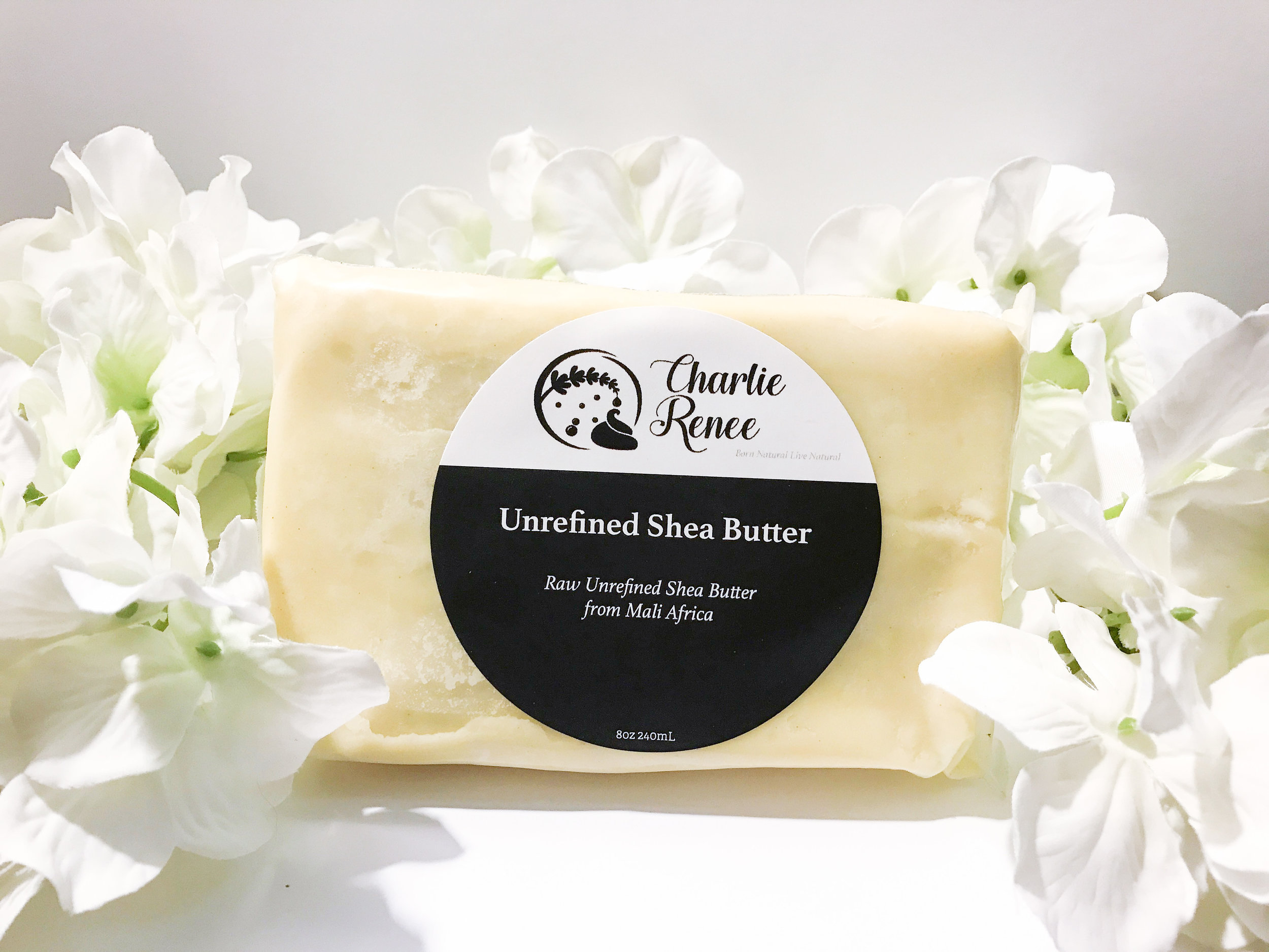 uNREFINED sHEA bUTTER - This product is 100% pure shea from the Mali shea trees which grow in sub-Saharan Africa. The Mali shea tree grows in a different climate of the known shea butter region of Ghana.  The origins of the shea nut produces a creamier shea butter with a reduced aroma.   Our shea butter  is prepared with a small amount of lime juice. The lime juice acts as a natural preservative to provide a longer shelf life.  With proper storage, this creamy unrefined shea butter should last you 2 years.