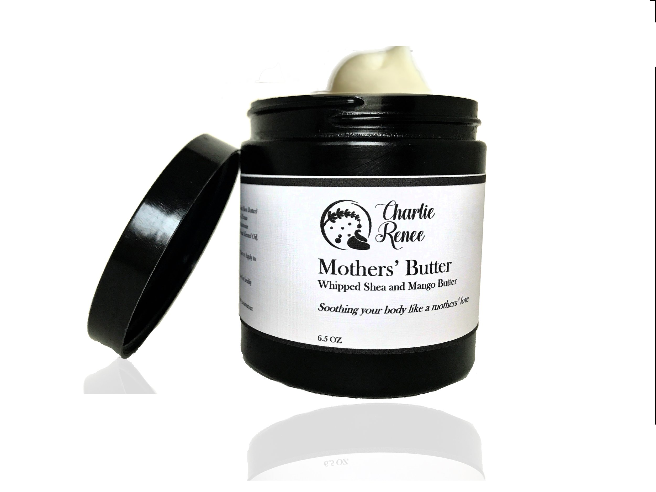 **COMING SOON**MOTHERS' BUTTER - This whipped shea and mango butter will protect, seal and nourish strands and body. You will enjoy the creamy and spreadable butter as it seals the moisture into your hair and body. Mothers' Butter is made using natural ingredients and fragrances.