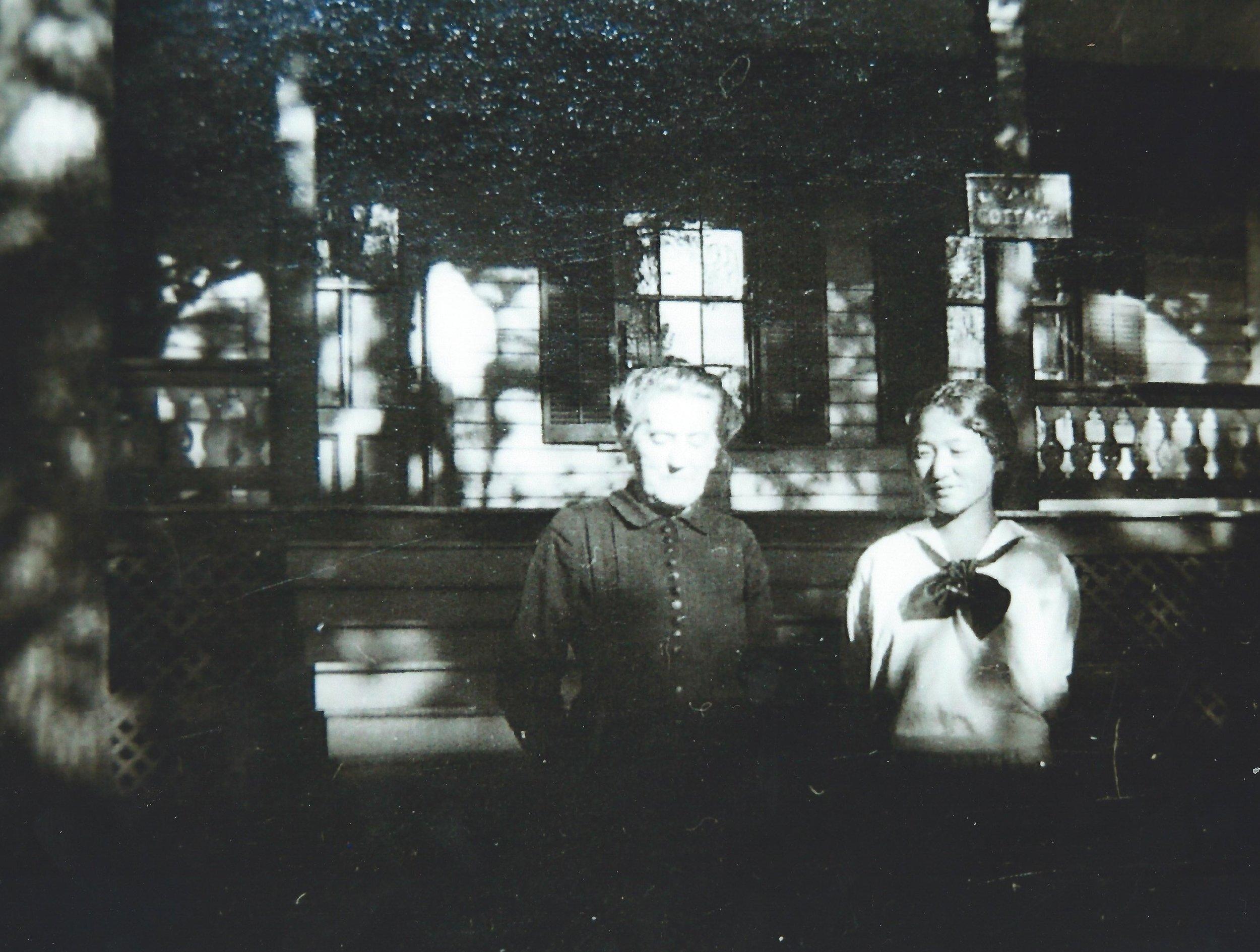 Martha Clarke and Suye Narita