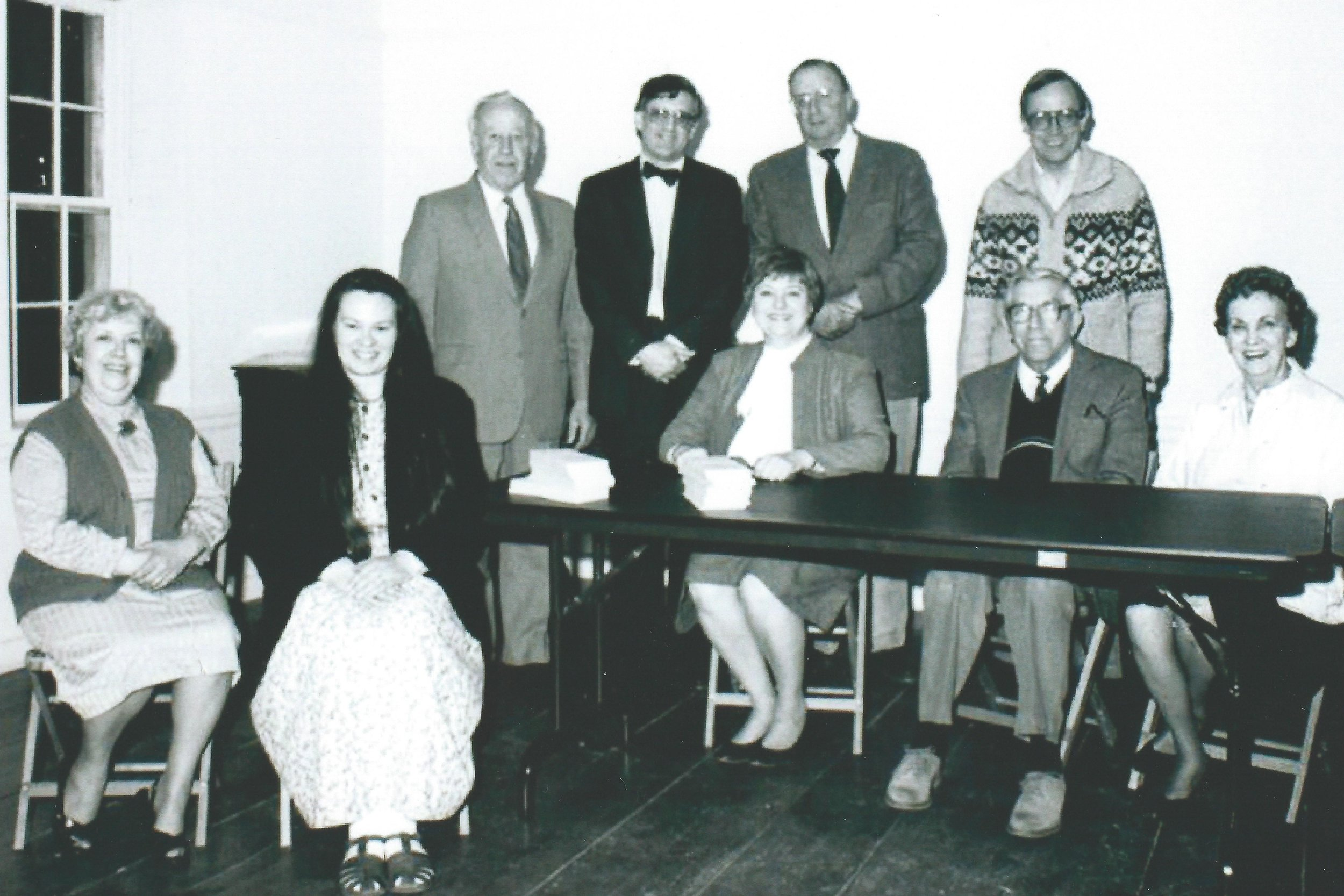 Founding Members of The Friends of the Ulysses S. Grant Cottage