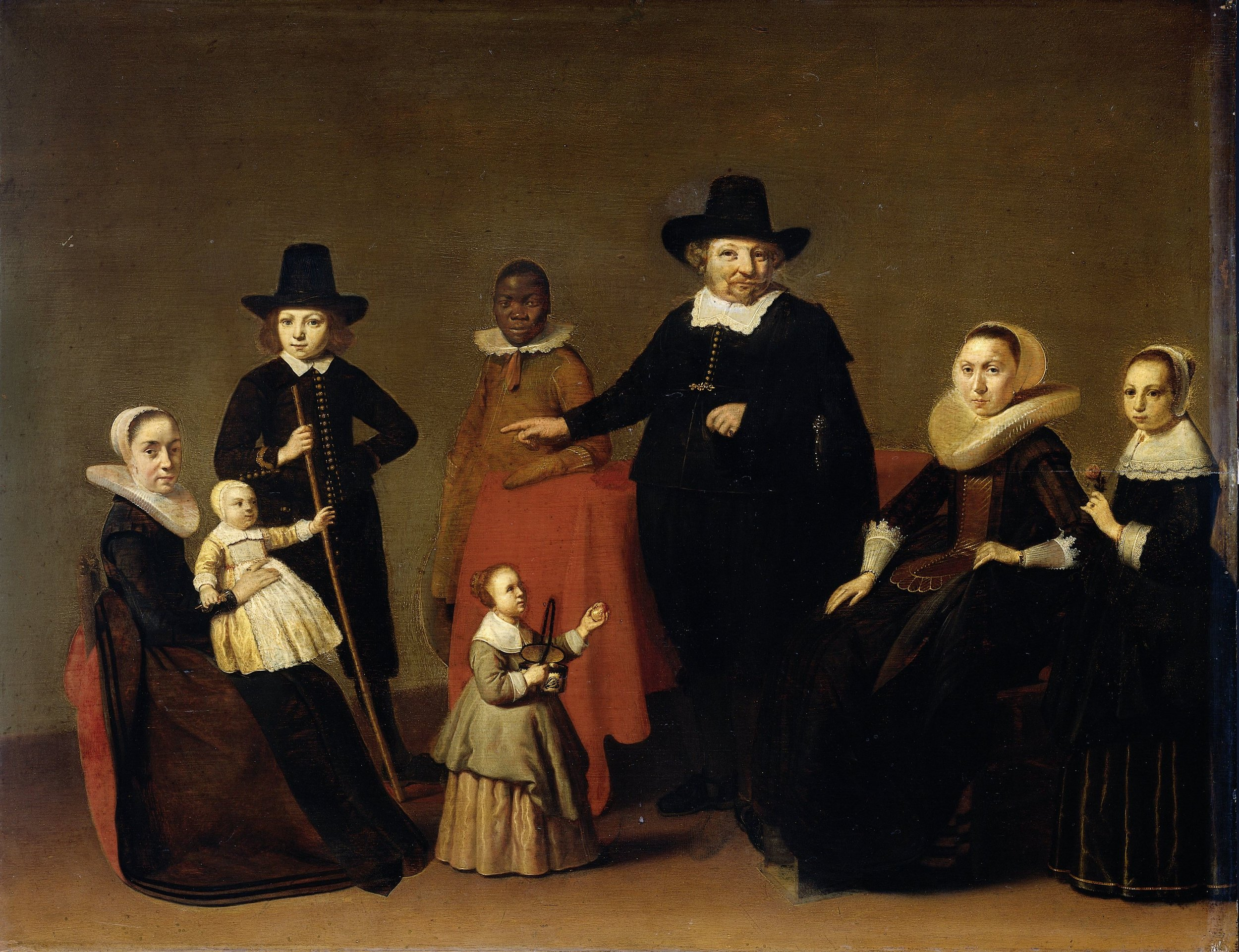 """Family group by Willem C. Duyster (c. 1631-1633), courtesy of the Rijksmuseum Amsterdam."""