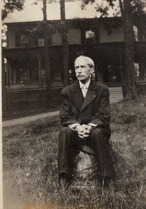 O.P. Clarke.  Image courtesy Walt and Wendy Upham collection.