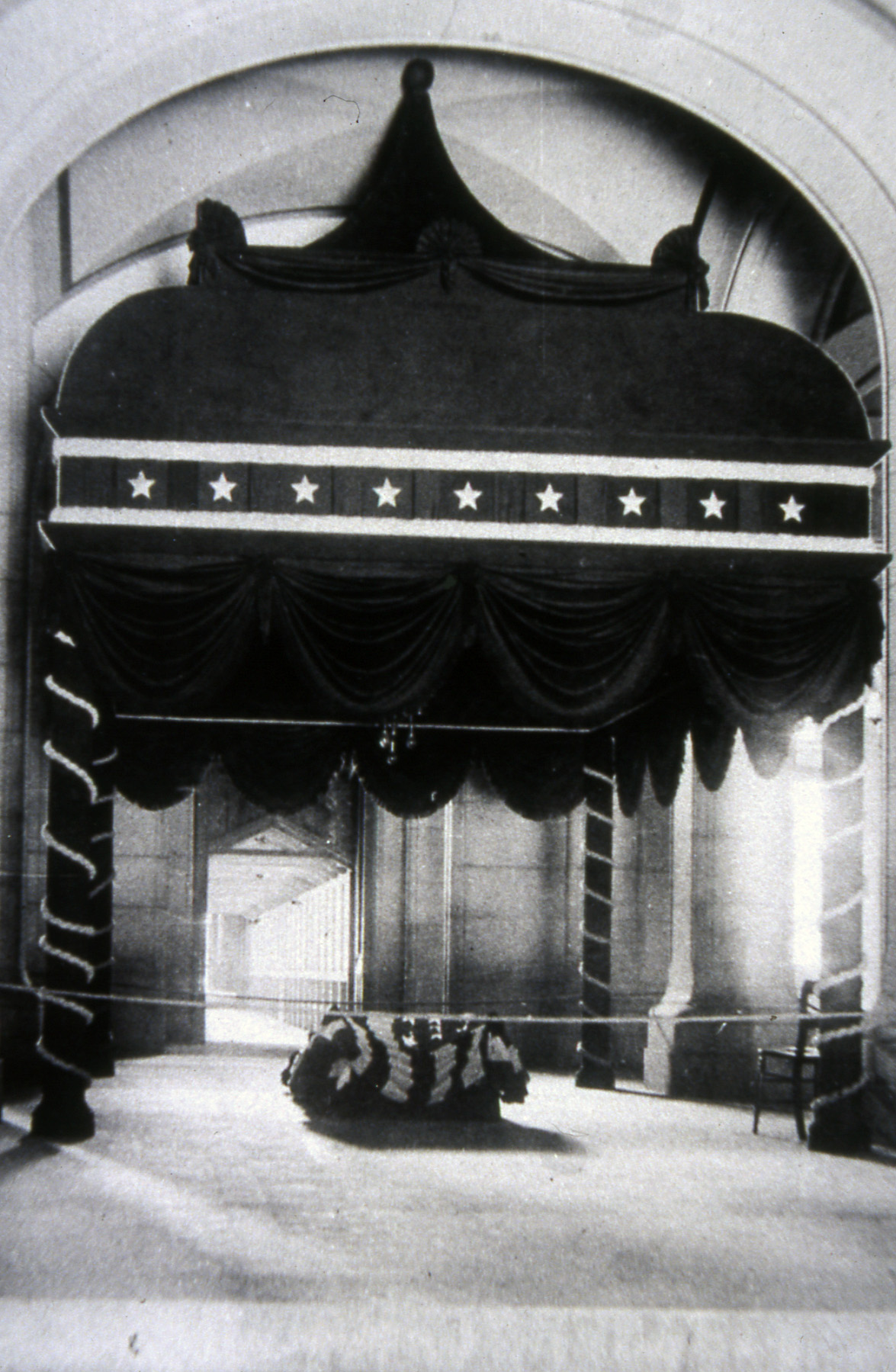 Grant Lying in State at the Captiol Building in Albany