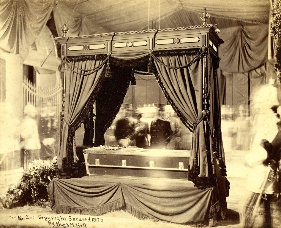 Grant Lying in State at City Hall, New York City