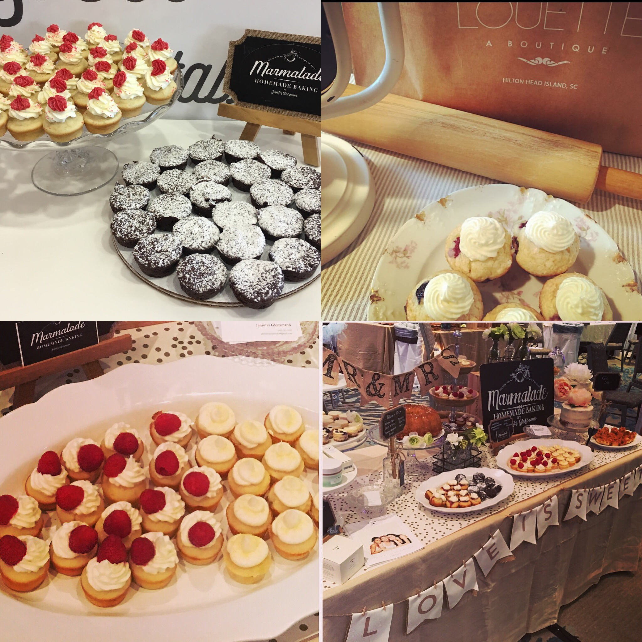 MINI DESSERTS ARE PERFECT FOR WEDDINGS OR PROMOTIONAL EVENTS