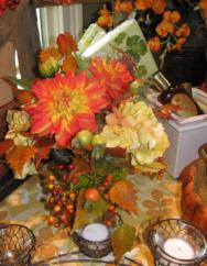 Fall Silk Arrangement