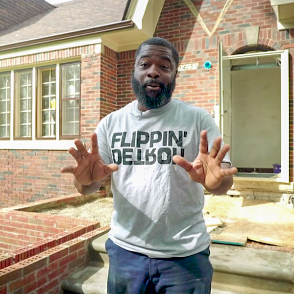 Flippin' Detroit - Orlando has a quest to restore Detroit one house at time, flipping classic homes that haven't had any love in a long time. He and his crew can spot a gem and then polish it to a shine in time to sell. (In-development)