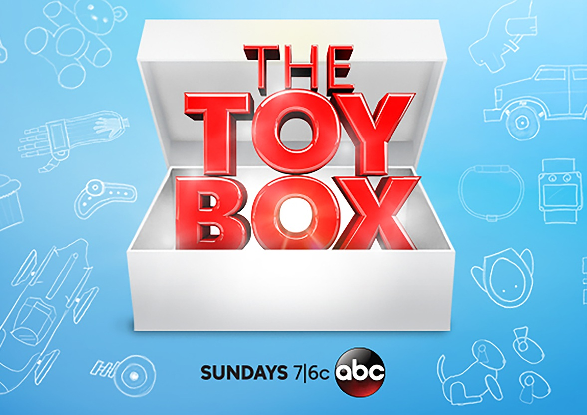 The Toy Box - The television channel ABC broadcasts a competition series where inventors present ideas for a new toy to a panel of children judges. During each episode, the judges critique each invention and determine if it is worthy to proceed to the final round of judging.During the season finale, one toy is chosen as the winner and is immediately put into production and sold at Toys