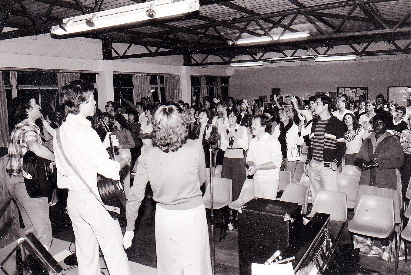 Victory Faith Centre in 1980
