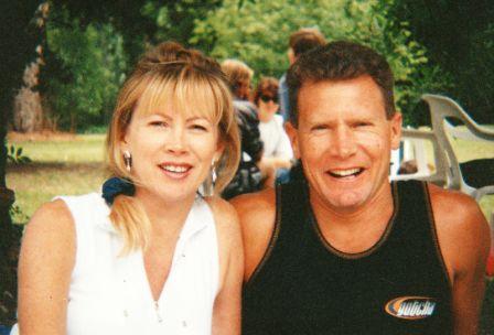 Rob and Glenda in 1990