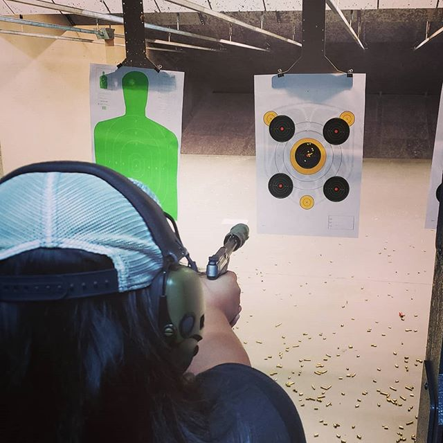 Always fun to take new shooters to the range #rangeday #suppressed22 #shootnctargets