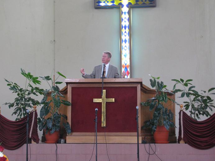 John Preaching at Kabarak