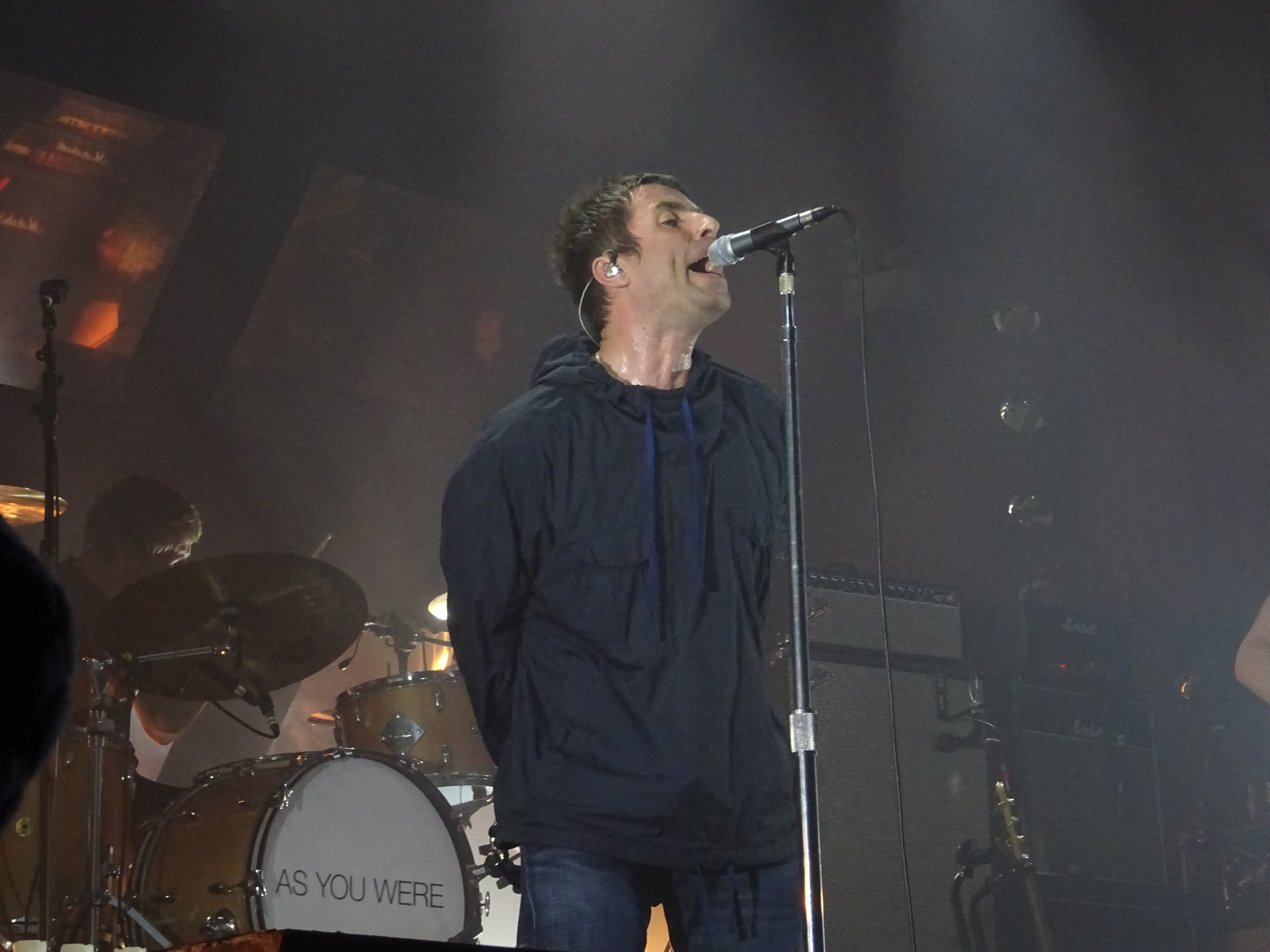 Liam Gallagher takes to the stage, (c) Philip Giouras @ The Perfect Tempo
