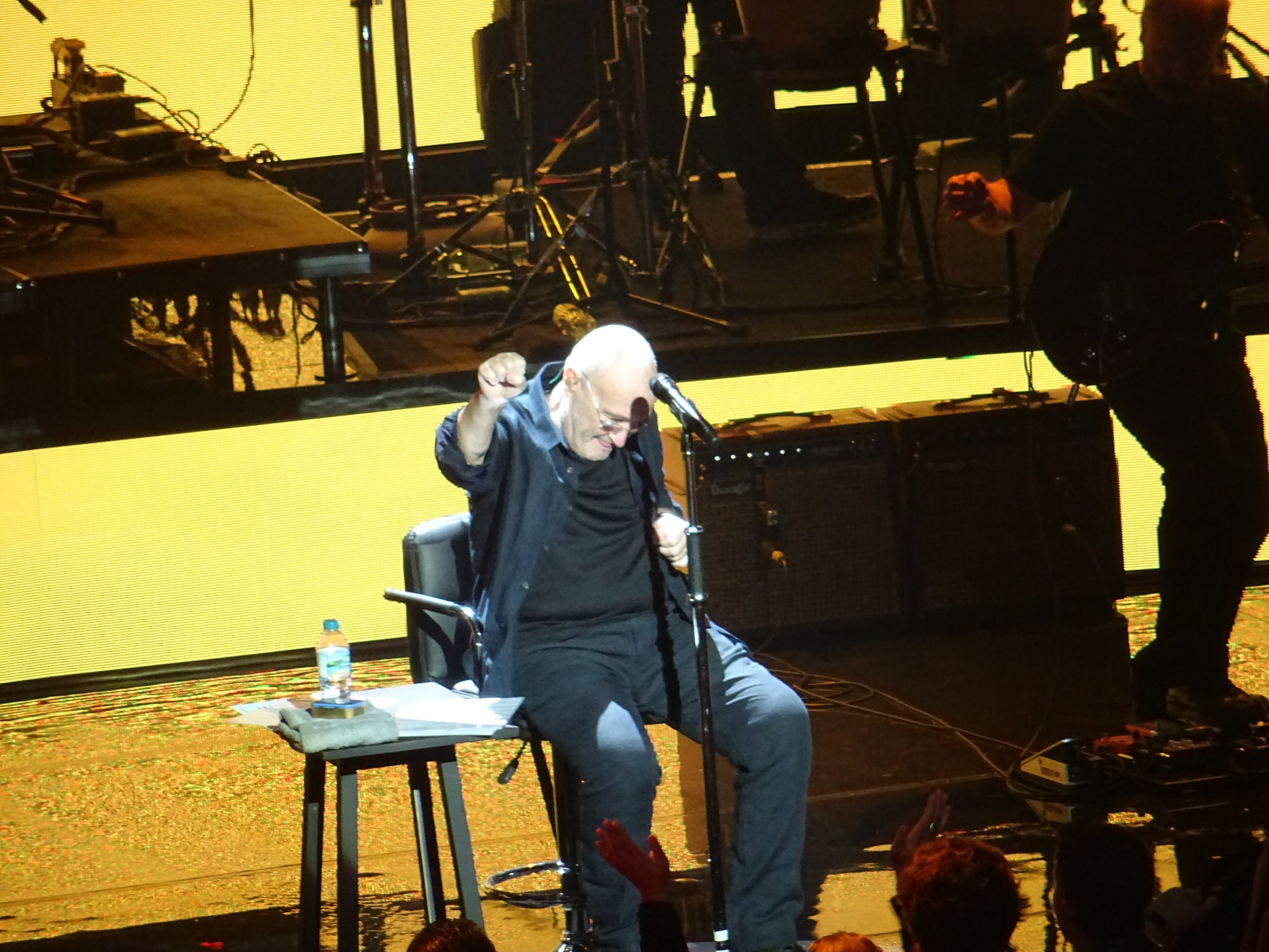 Phil celebrates (c) Philip Giouras @ The Perfect Tempo