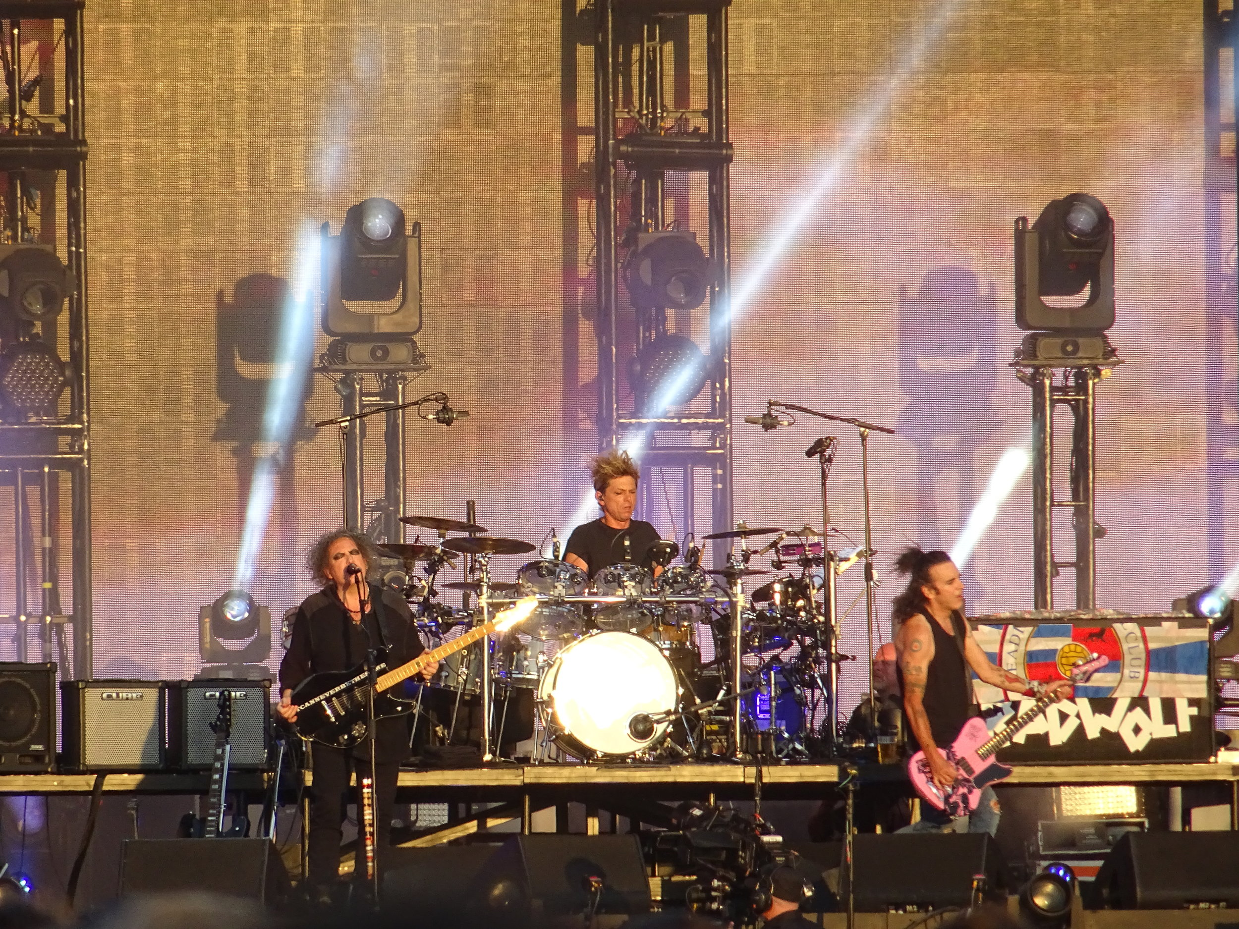 The CureHyde Park (7/7/2018) - The Cure celebrated their 40th Anniversary by playing a hit filled, career spanning set to 65,000 people in a sweltering Hyde Park.