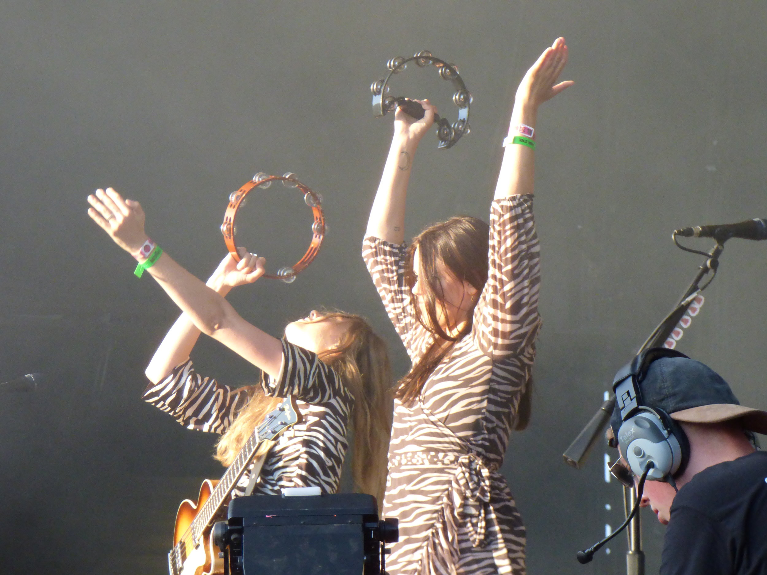 First Aid KitBestival - First Aid Kit are currently touring off of the back of one of the finest albums of their career and festival appearances this year have been kept to a minimum.Tonights performance showcased just why they deserved that 'special guest' labelling on the lineup.