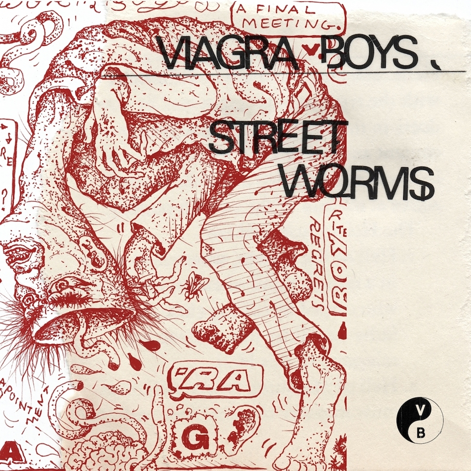 Viagra BoysStreet Worms - With 'Street Worms' Swedish sextet Viagra Boys unleash a ferocious debut record full of experimental twists, dark humour and exciting riffs.