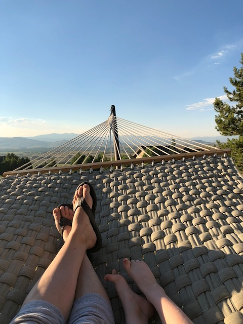 This hammock...This view....
