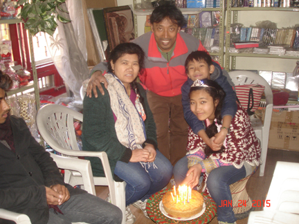 Brother Bishnu & His Family, FPGM National Partners in Nepal