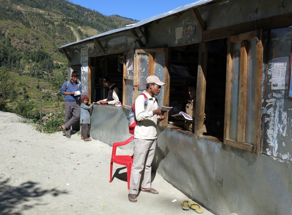 Brother Naresh labors faithfully in Far West Nepal.