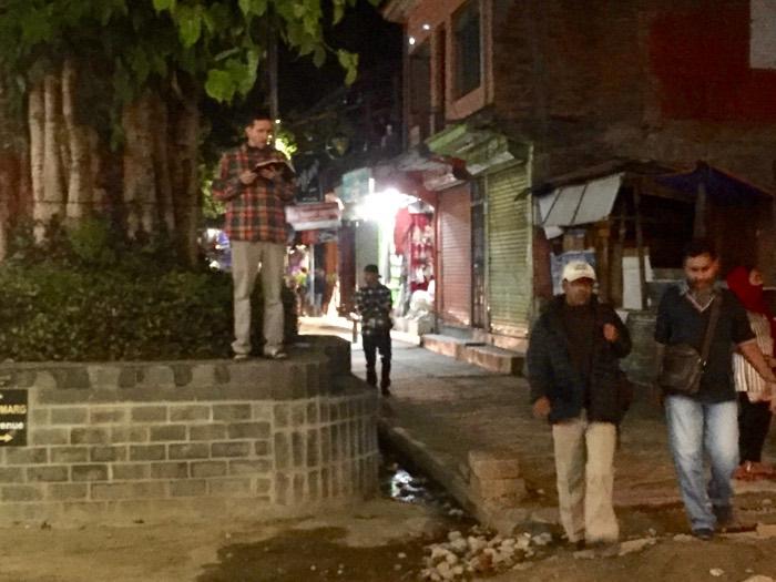 Open-air Preaching in Pokhara