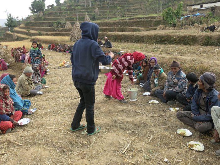 Feeding an Entire Village in Nepal