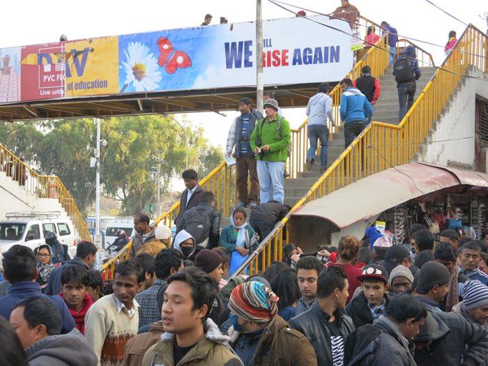 Open-air Preaching in Kathmandu's Ratna Park